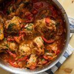 Chicken Cacciatore With Red Peppers, Tomato, And Onion Recipe – Recipes Chicken Breast Bell Peppers Onions