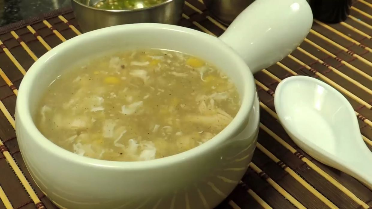 Chicken Corn Soup Chinese - How To Make Homemade Corn Soup - Easy Soup  Recipe (HUMA IN THE KITCHEN) - Soup Recipes Youtube Video