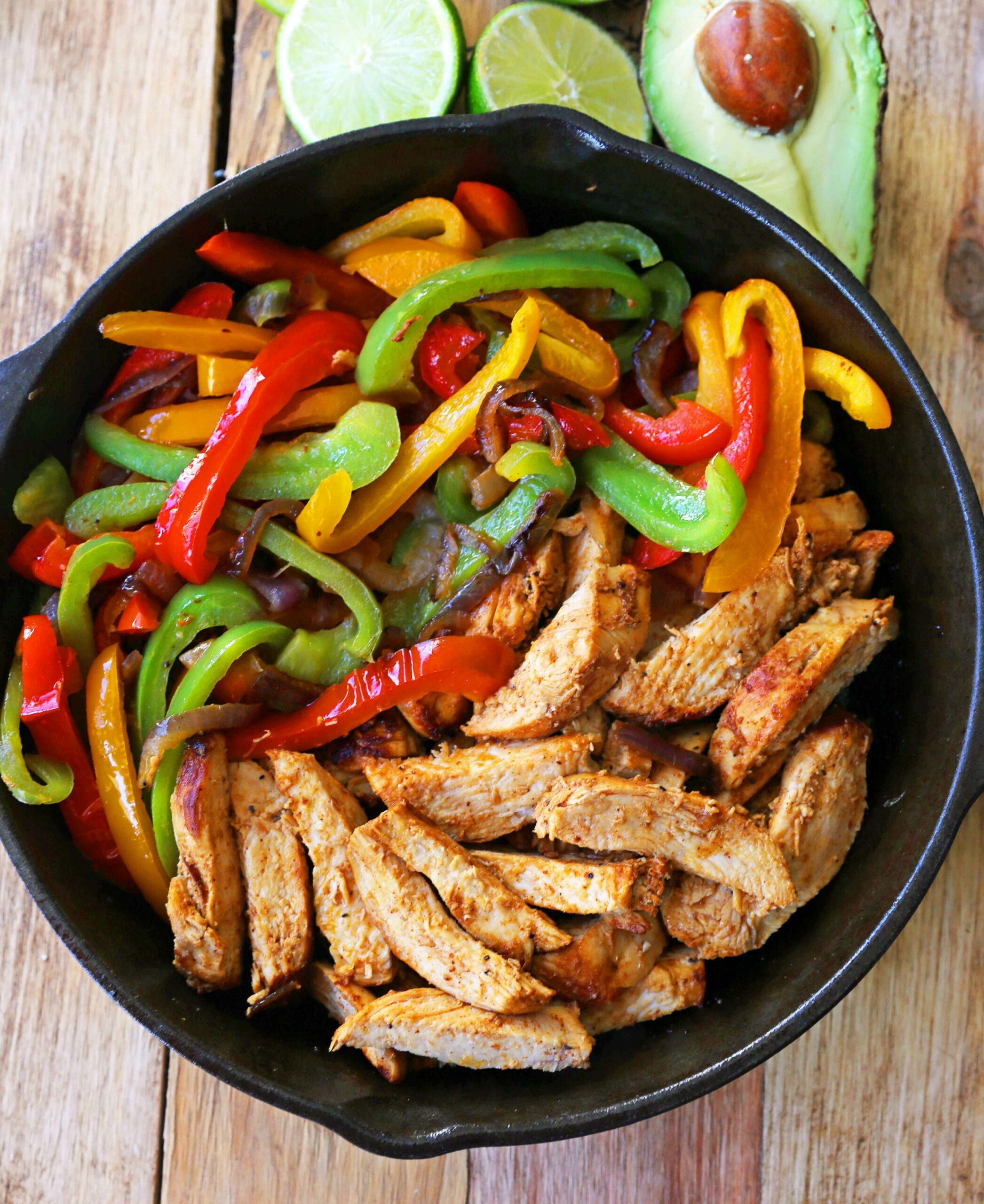 Chicken Fajitas - Recipes Chicken Breast Bell Peppers Onions