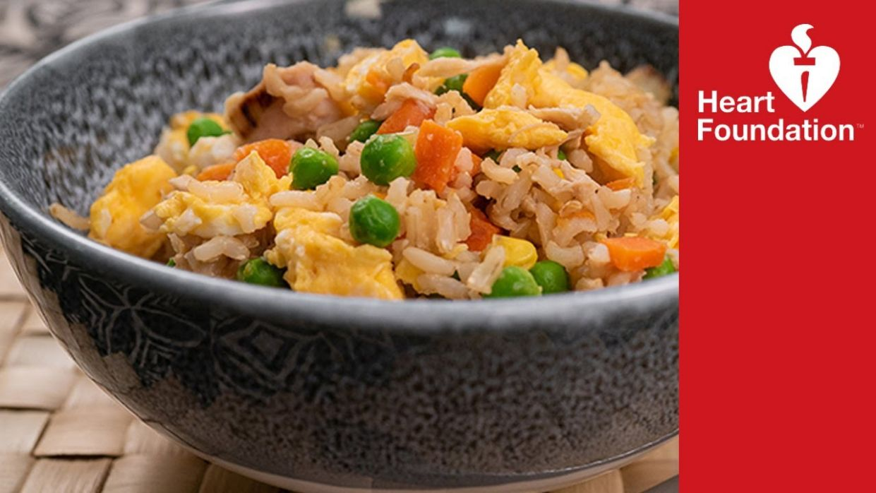 Chicken fried rice | Healthy Recipes | Heart Foundation NZ - Rice Recipes Nz