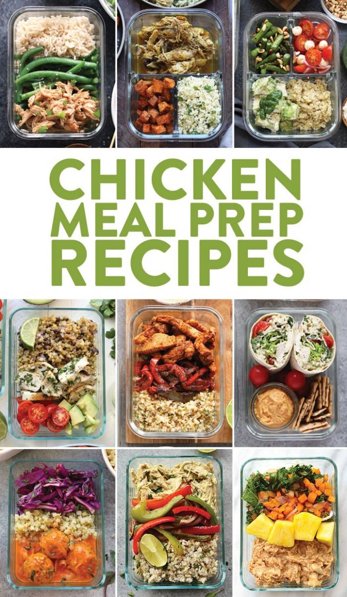 Chicken Meal Prep Recipes - Fit Foodie Finds