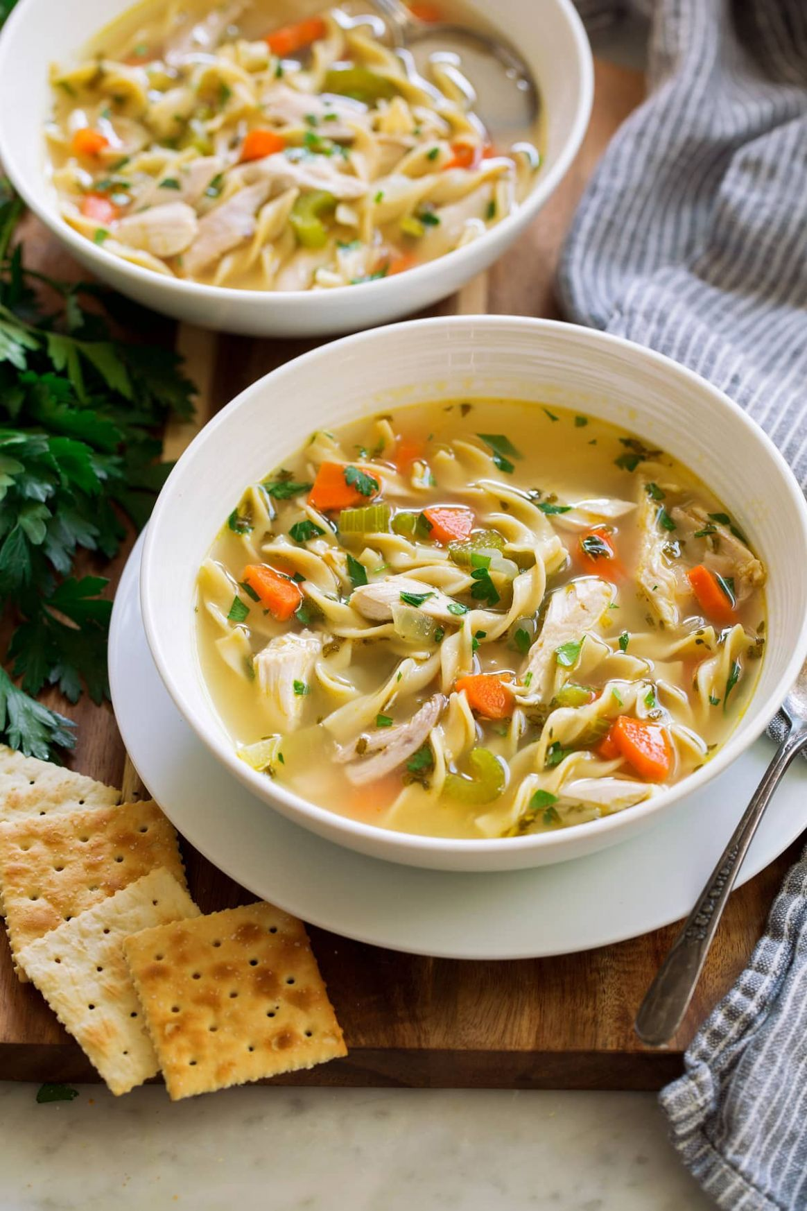 Chicken Noodle Soup - Recipes Chicken Noodle Soup Homemade