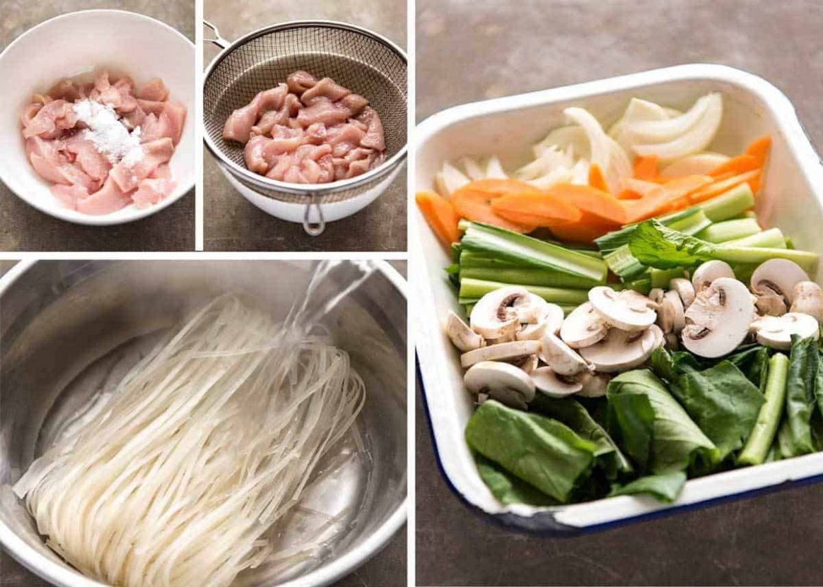 Chicken Stir Fry with Rice Noodles   RecipeTin Eats - Recipes Rice Stick Noodles