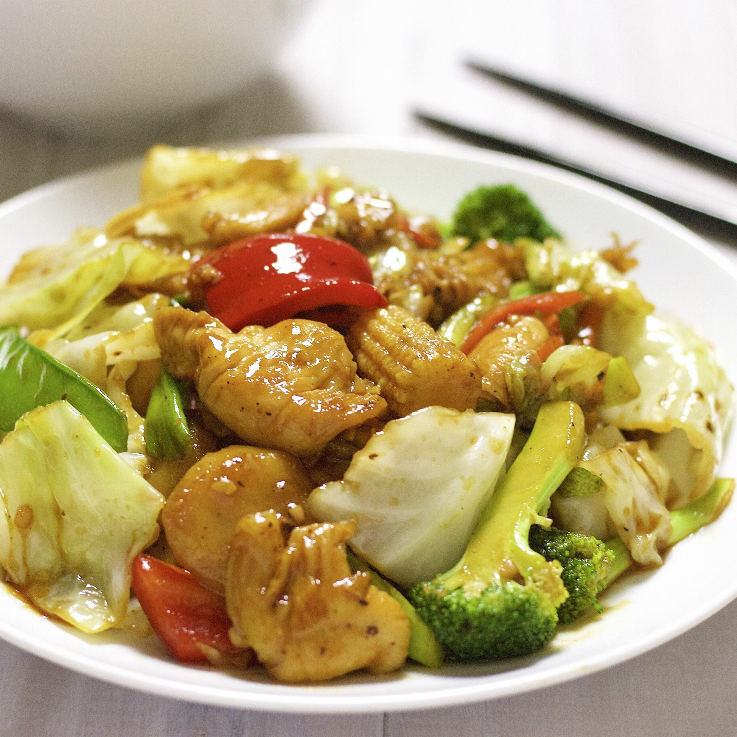 Chicken With Mixed Vegetables - Recipes Of Vegetable Dishes