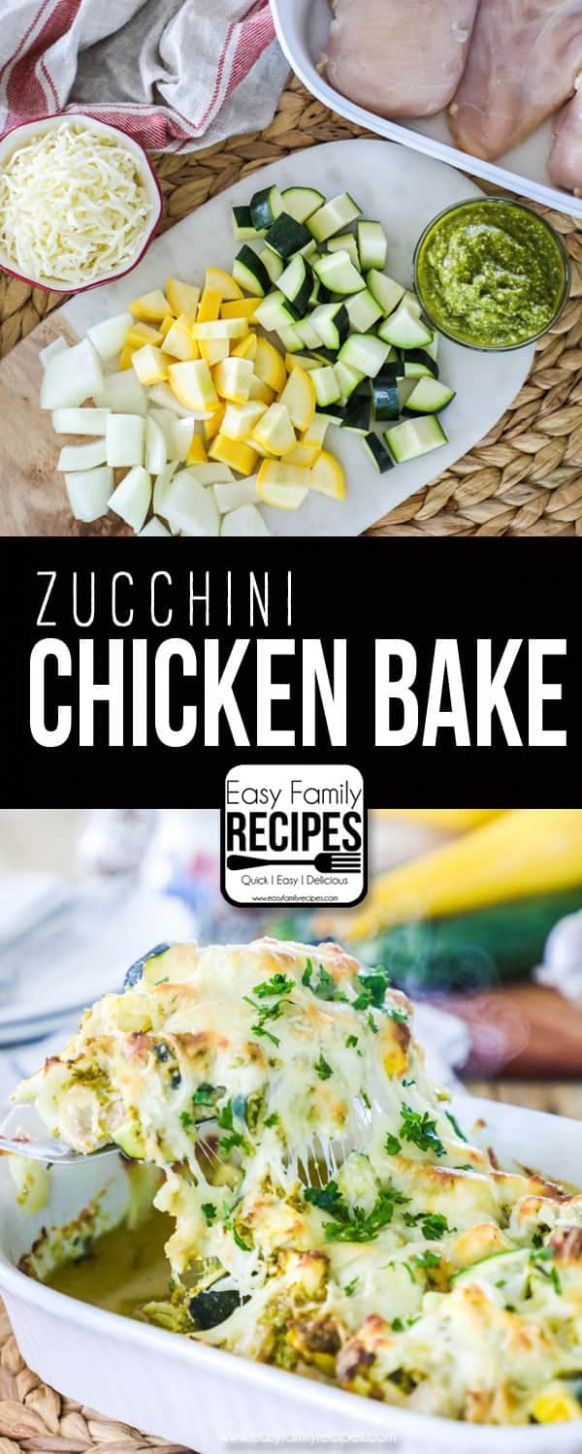 Chicken Zucchini Casserole · Easy Family Recipes - Recipes Chicken Zucchini Casserole