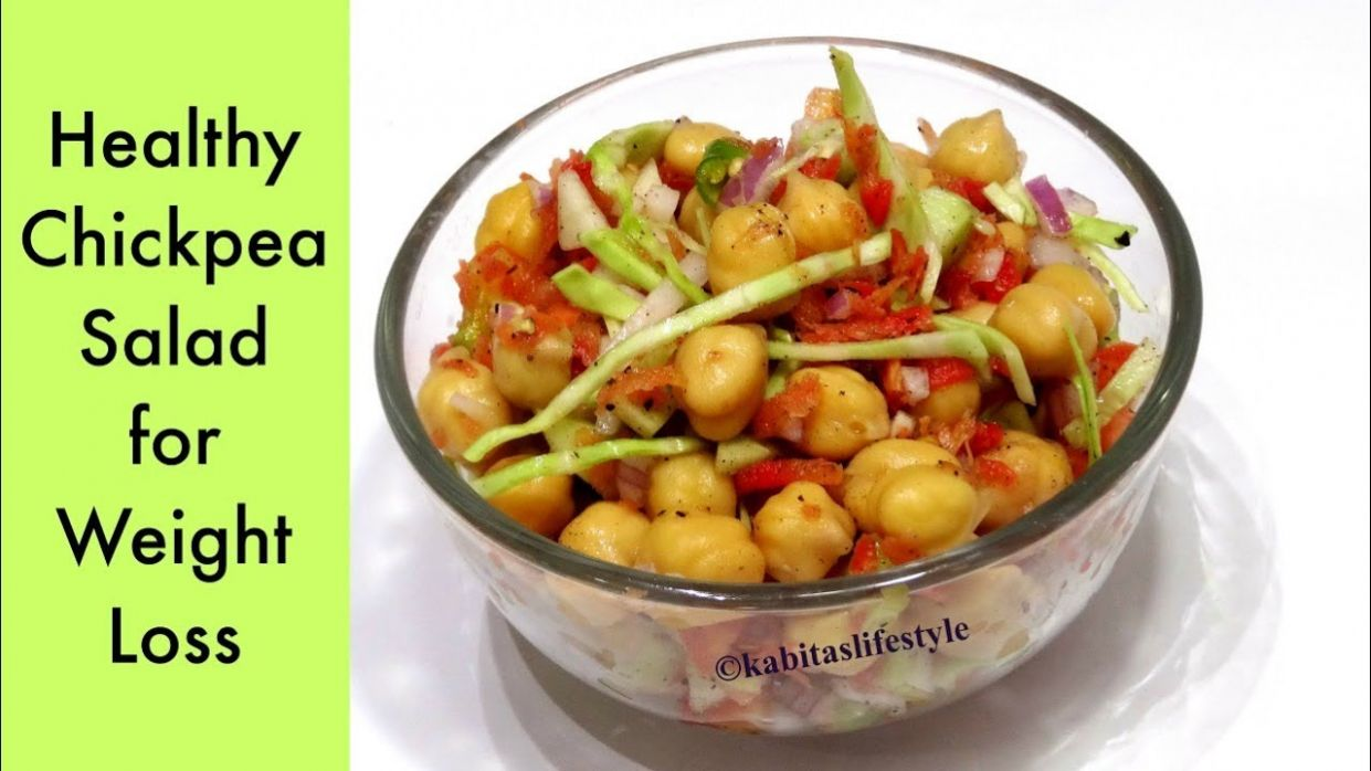 Chickpea Salad Recipe | Weight Loss recipe | Healthy Salad for ..