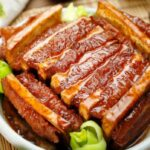 Chinese Braised Pork Belly Slices With Taro L 粵菜  香芋扣肉 ..