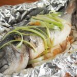 Chinese oven steamed fish