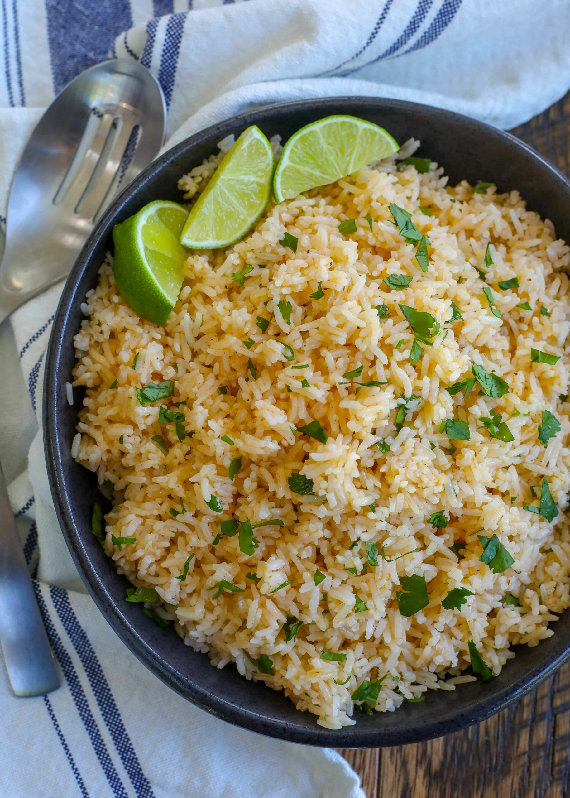 Chipotle Lime Rice - Rice Recipes Lime