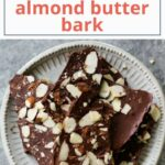 Chocolate Almond Butter Bark – Dessert Recipes Keto Diet