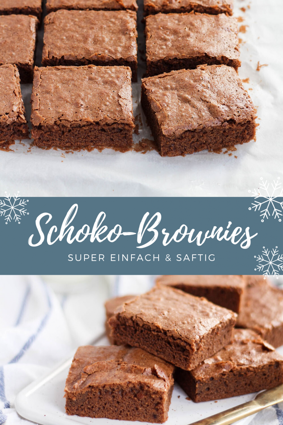 Chocolate brownies - Perfect recipe for Christmas: chocolate ..