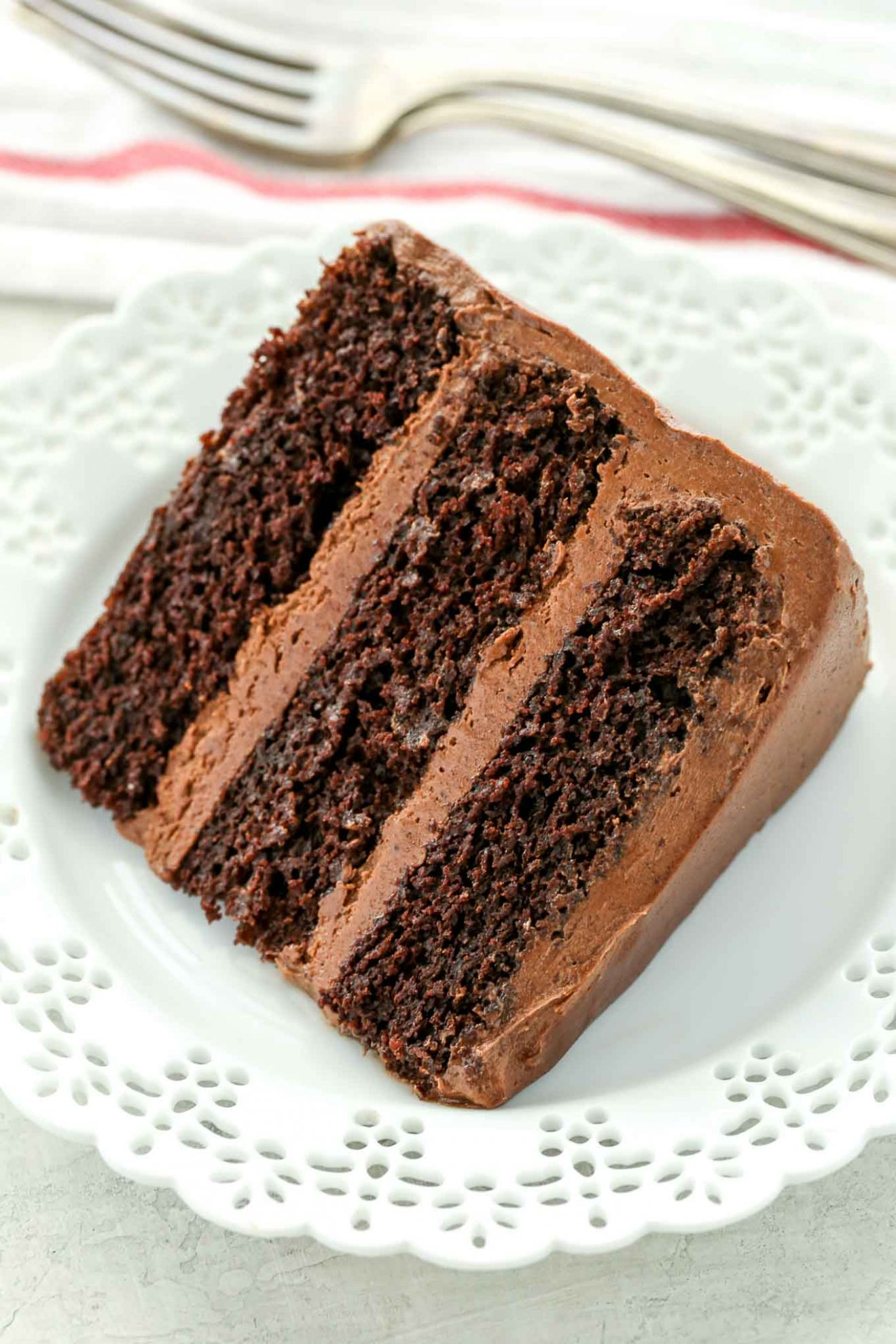 Chocolate Cake - Recipe Chocolate Layer Cake