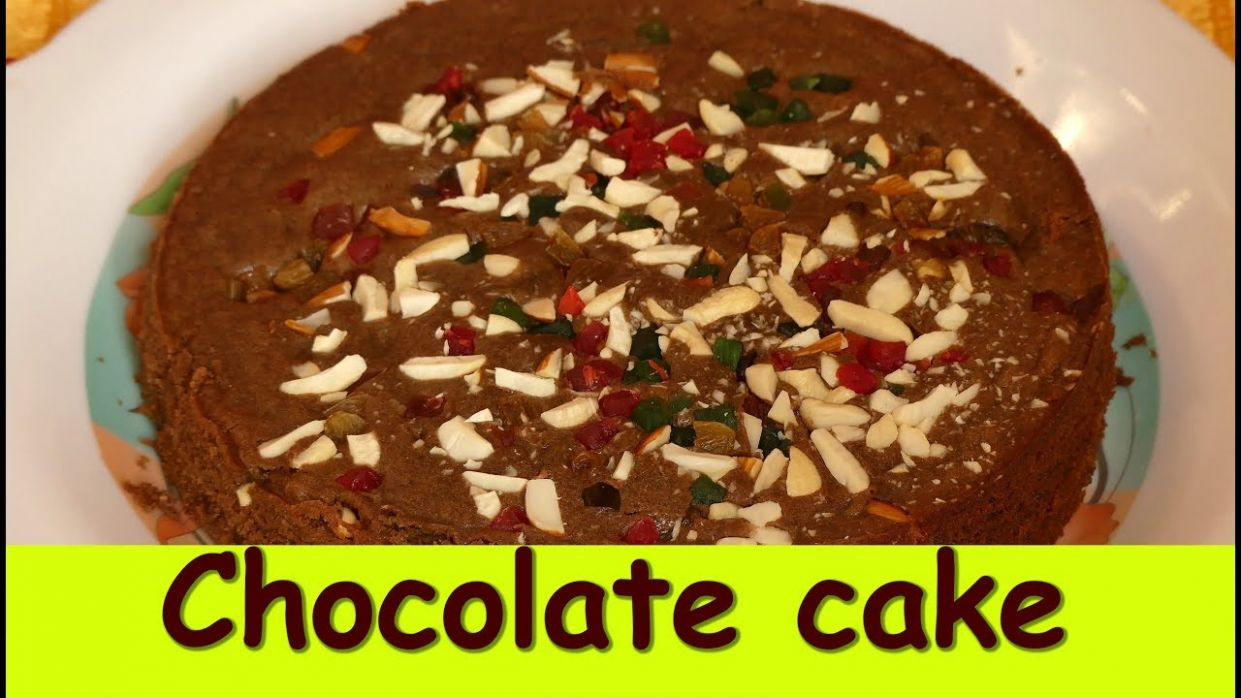 chocolate cake without oven in kannada|How to make eggless chocolate cake|  chocolate eggless cake - Cake Recipes Kannada