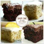 Chocolate Crazy Cake (No Eggs, Milk, Butter Or Bowls) – Sweet ..