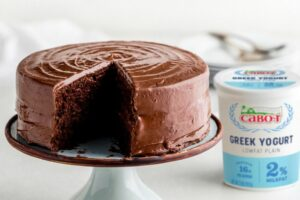 Chocolate Layer Cake with Chocolate Frosting