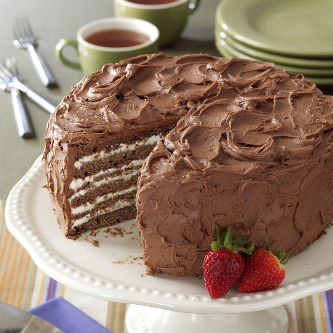 Chocolate/Whipping Cream Torte - Dessert Recipes That Use Heavy Whipping Cream