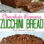 Chocolate Zucchini Banana Bread – Recipe Chocolate Zucchini Banana Bread