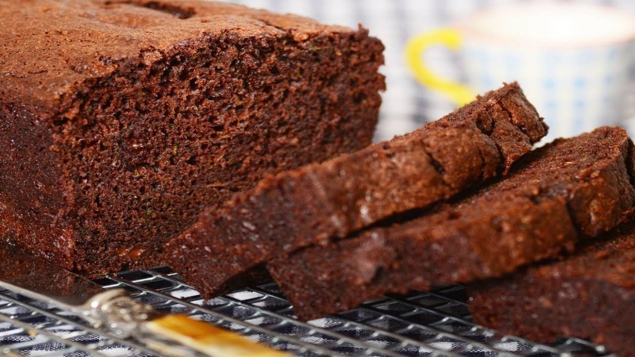 Chocolate Zucchini Bread Recipe & Video - Recipes Chocolate Zucchini Bread