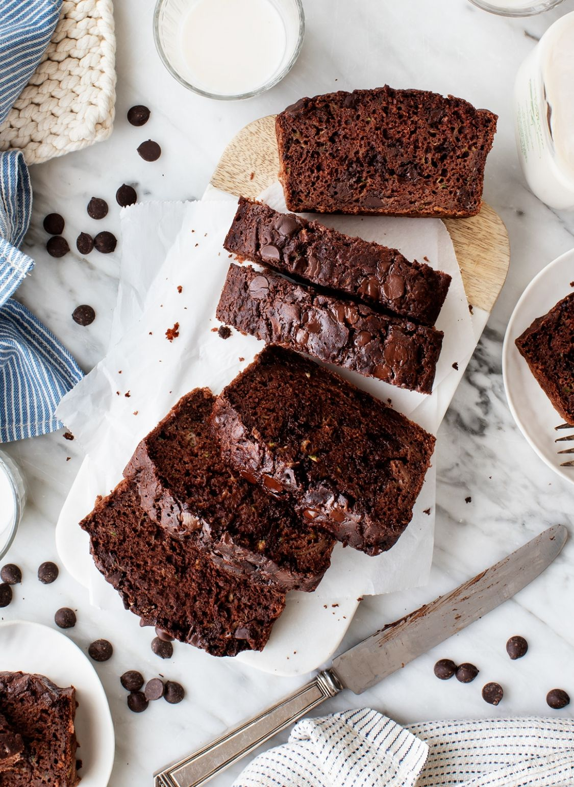 Chocolate Zucchini Bread - Recipes Chocolate Zucchini Bread
