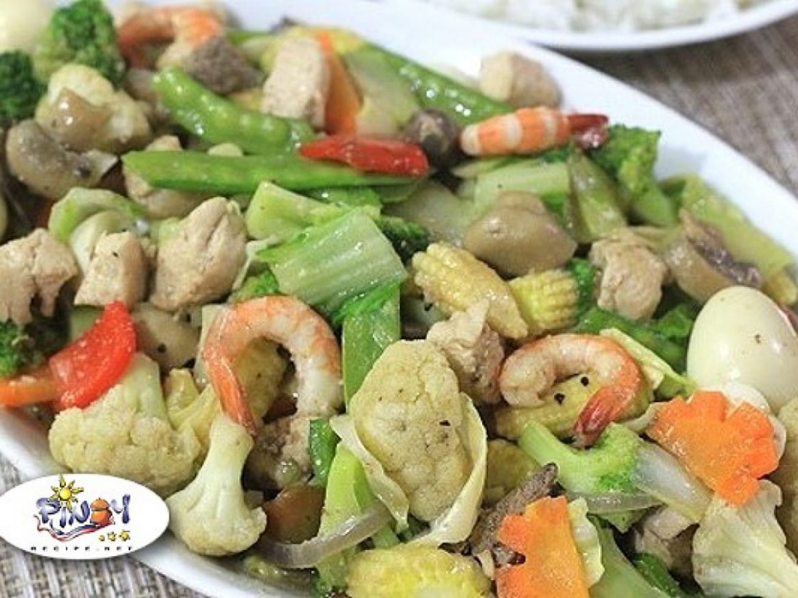 Chopsuey Recipe (Chop Suey) | Pinoy Recipe at iba pa