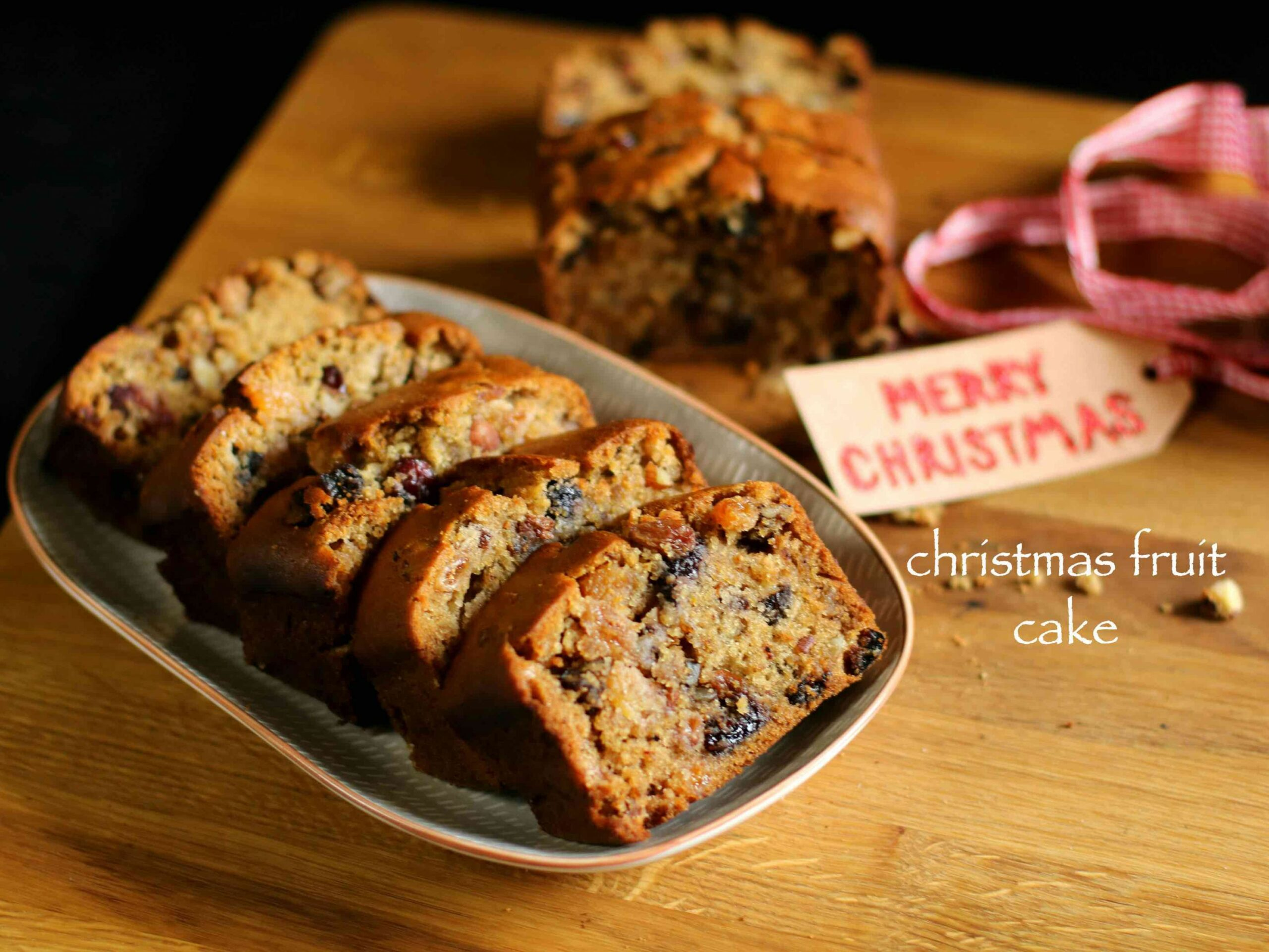 christmas cake recipe | fruit cake recipe | plum cake recipe - Easy Recipe Xmas Cake