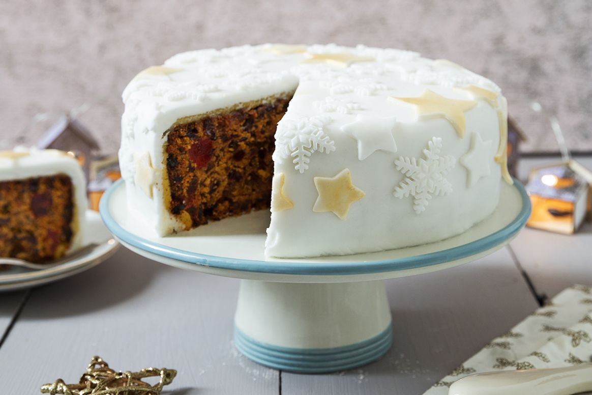 Christmas Cake Recipe | Odlums - Easy Recipe Xmas Cake