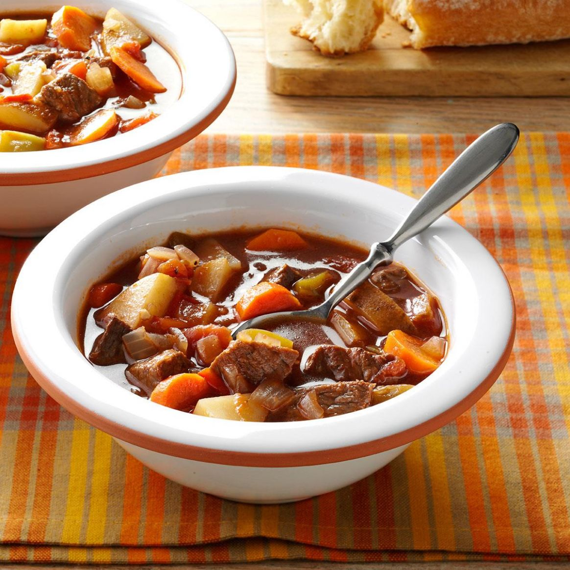Chunky Beef and Vegetable Soup