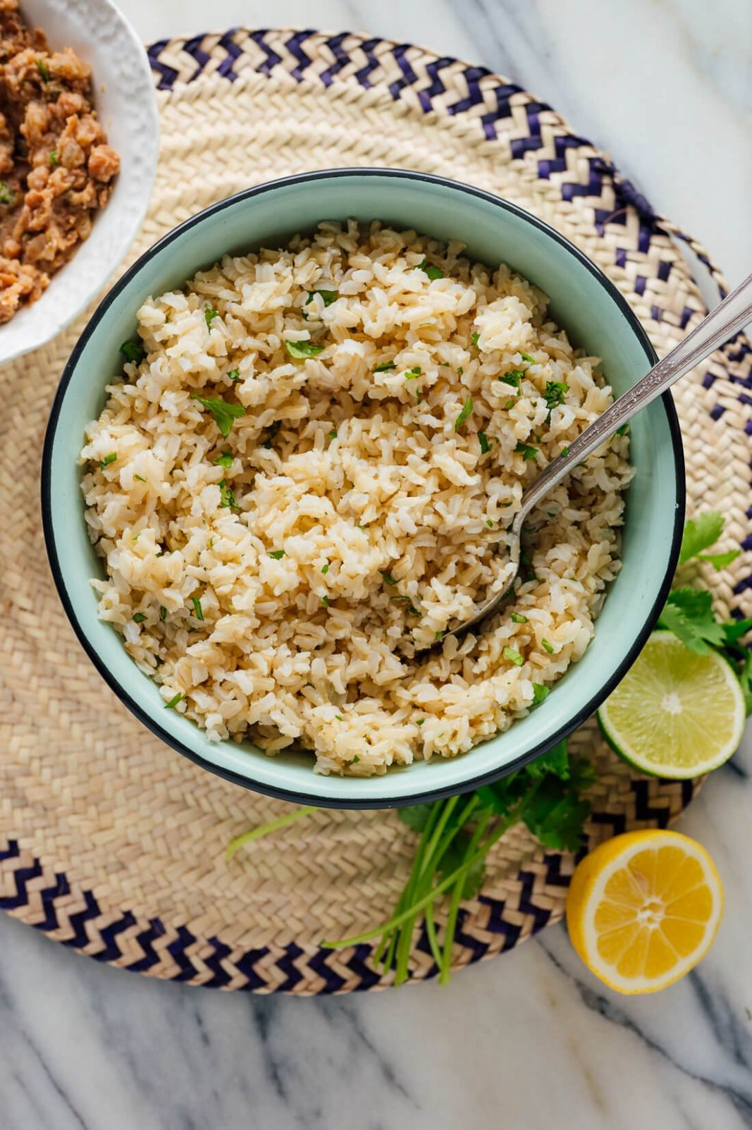 Cilantro Lime Brown Rice - Rice Recipes Lime