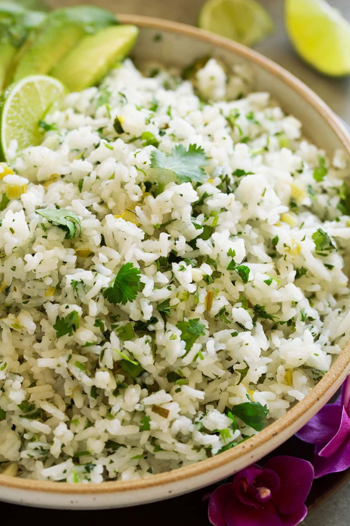 Cilantro Lime Rice Recipe - Cooking Classy - Rice Recipes Lime
