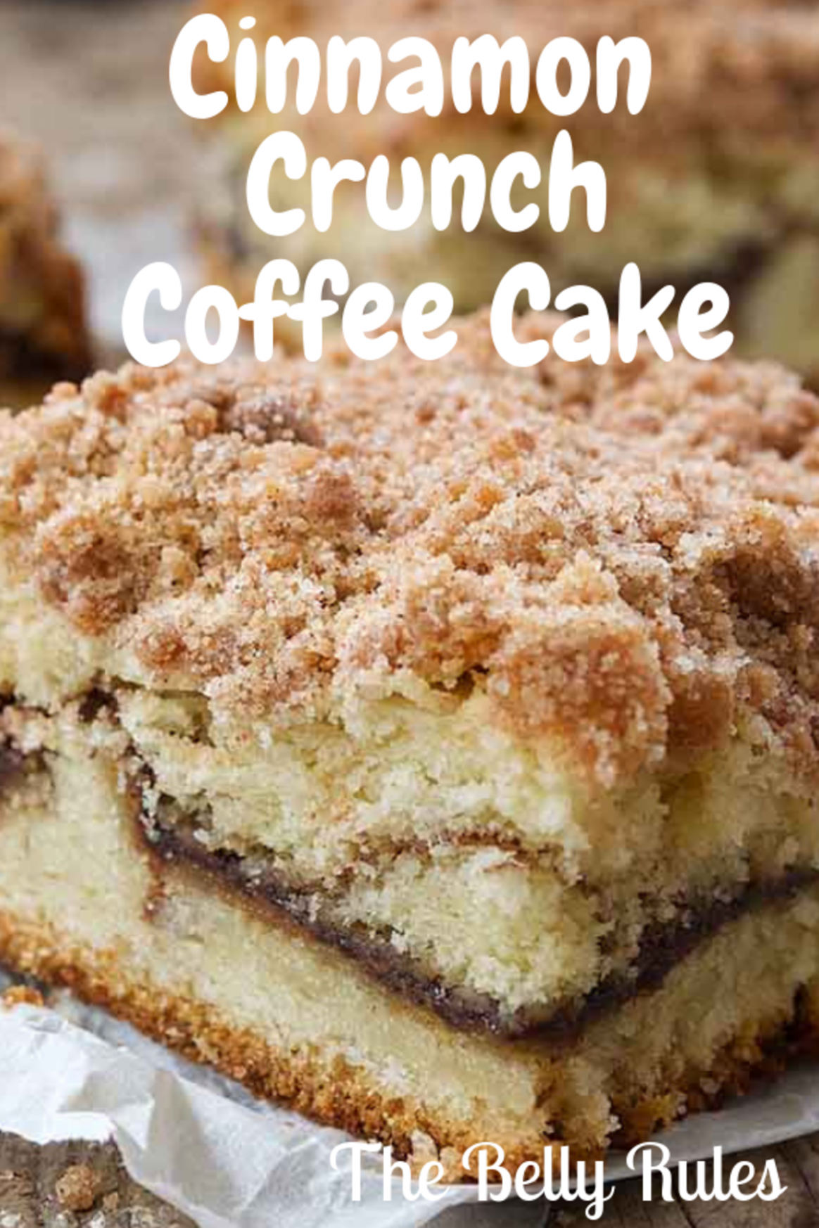Cinnamon Crunch Coffee Cake - Cake Recipes Pinterest