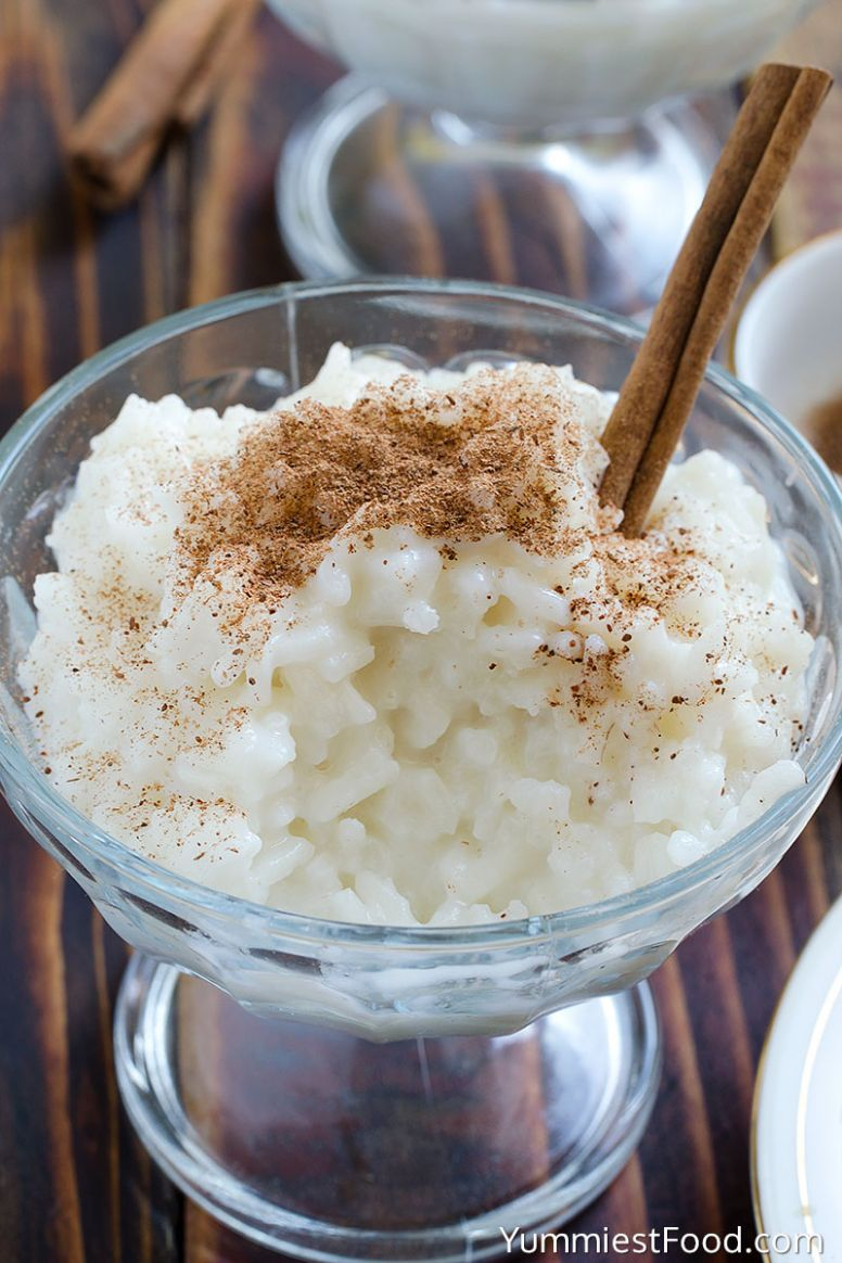 Cinnamon Rice Pudding Recipe - Recipes For Rice Pudding