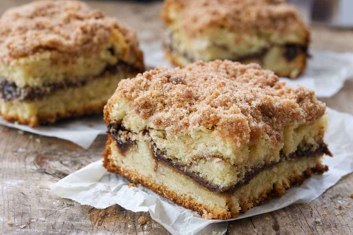 Cinnamon-Streusel Coffeecake - Recipes Coffee Cake