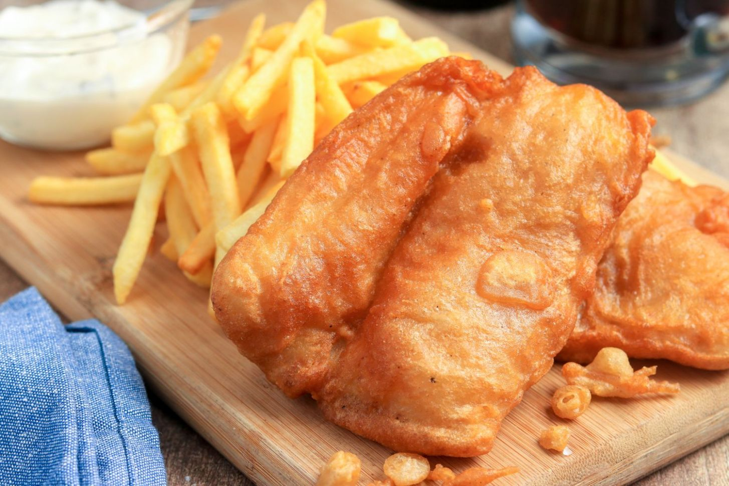 Classic British Fish and Chips - Recipes Fish Batter For Deep Frying