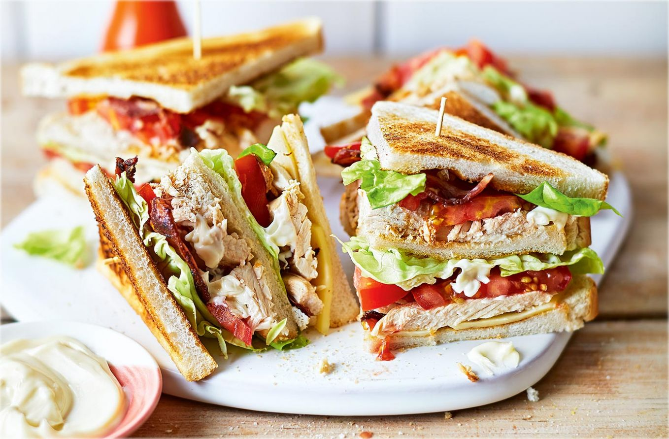 Classic chicken club sandwich - Sandwich Recipes And Procedures