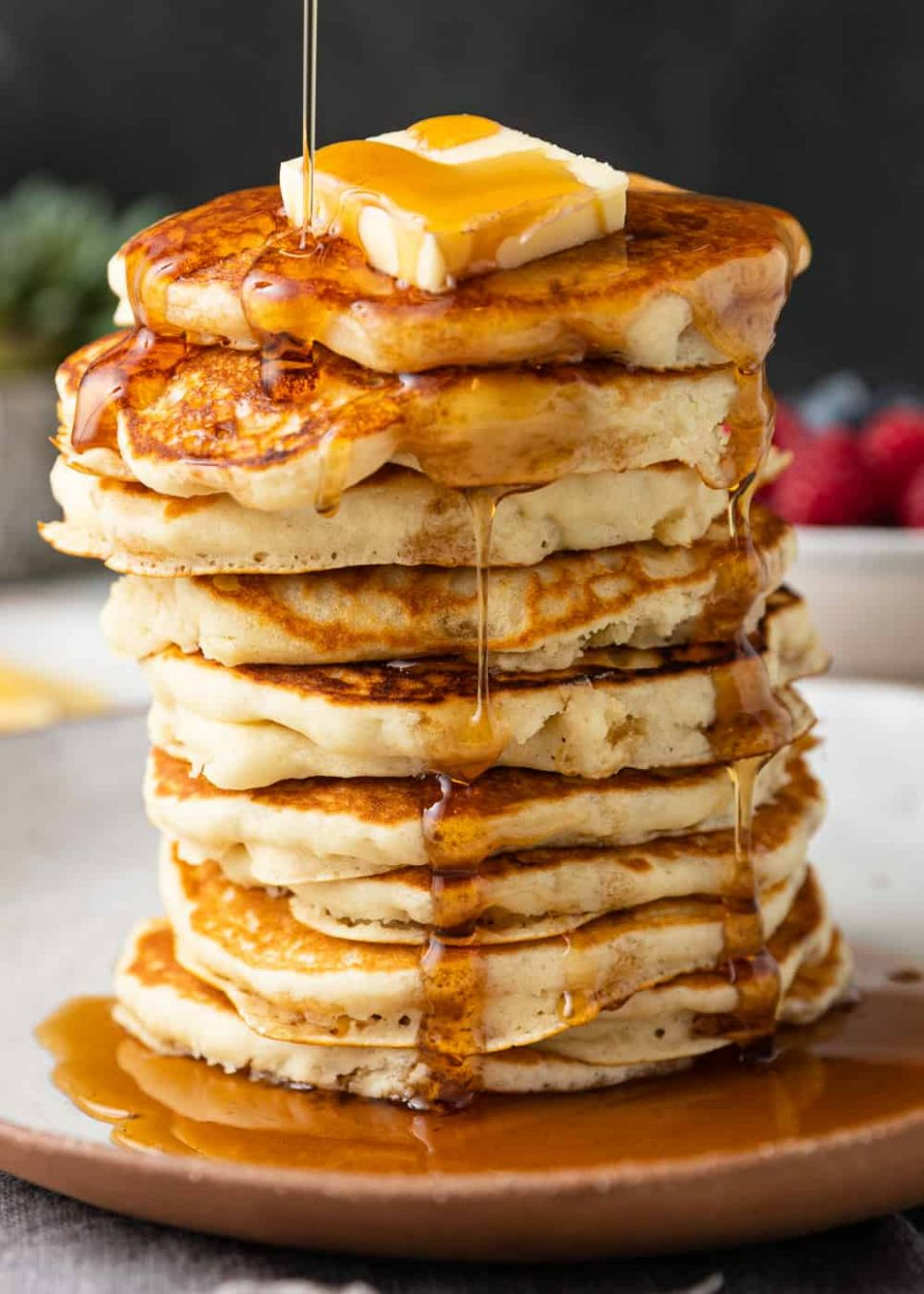 Classic Fluffy Pancake Recipe - Kevin Is Cooking - Breakfast Recipes Using Pancake Mix