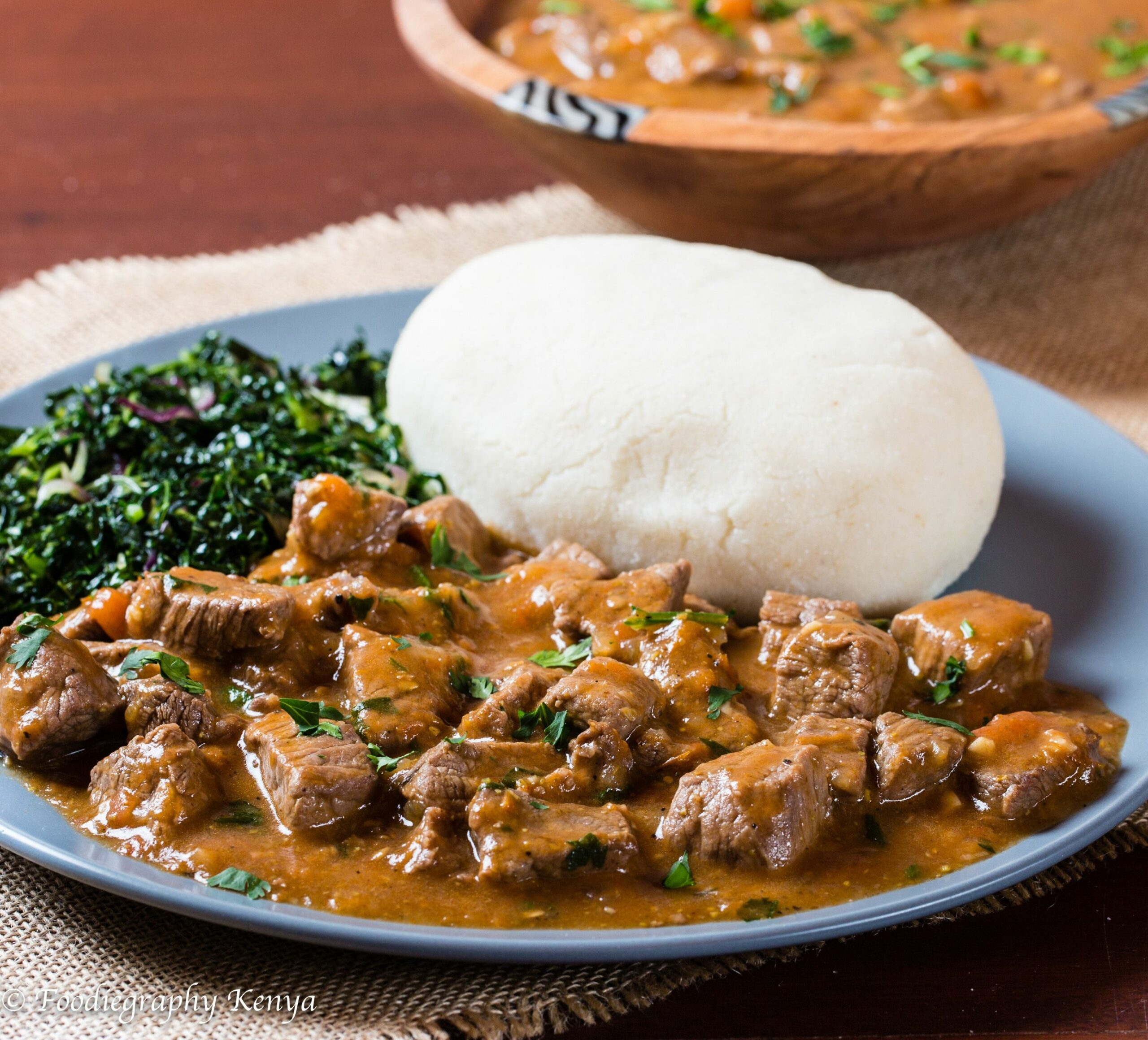 Classic Kenyan Beef Stew and Ugali in 10 | Kenyan beef stew ..