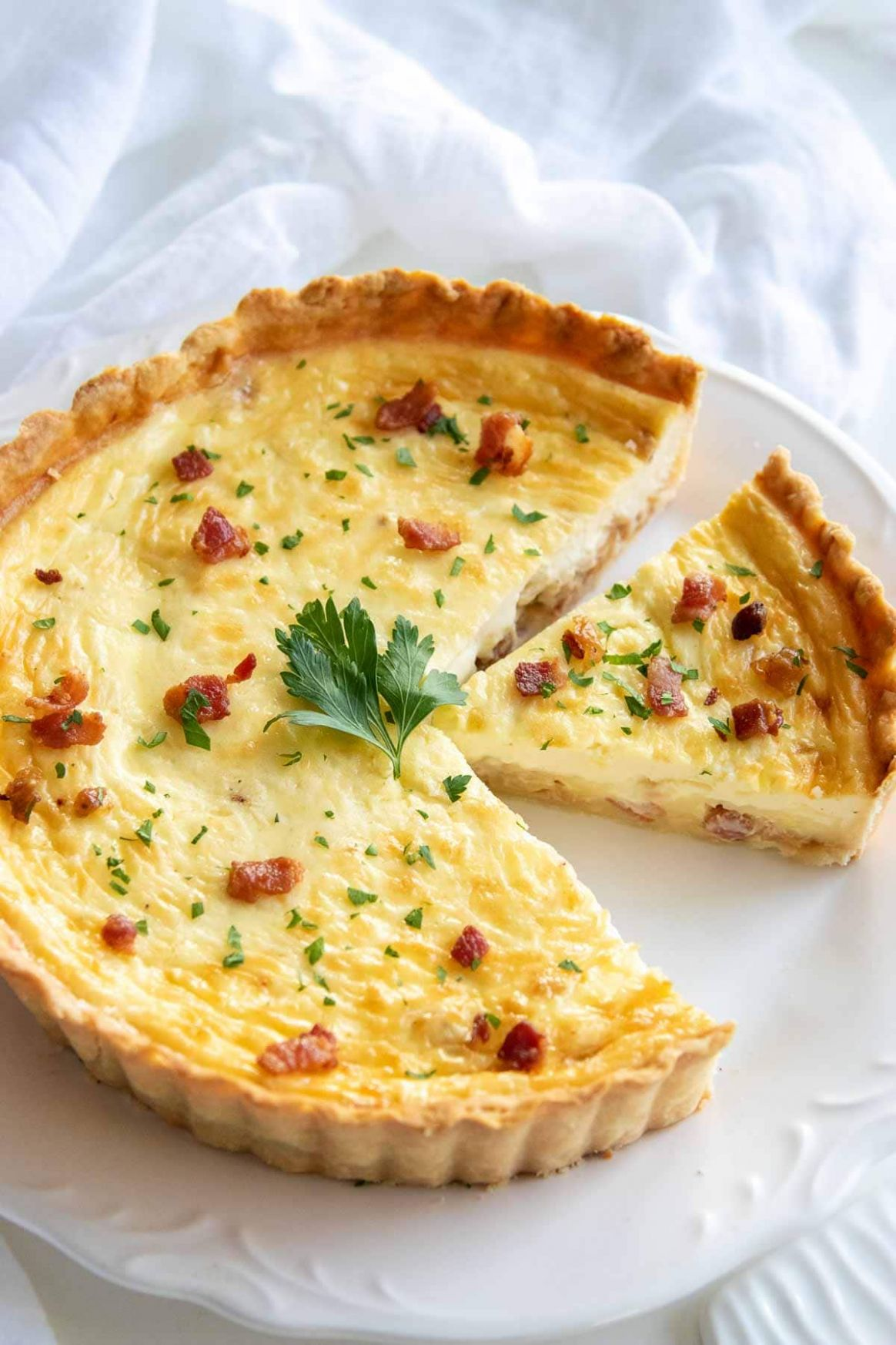 Classic Quiche Lorraine Recipe - Recipes Egg Quiche