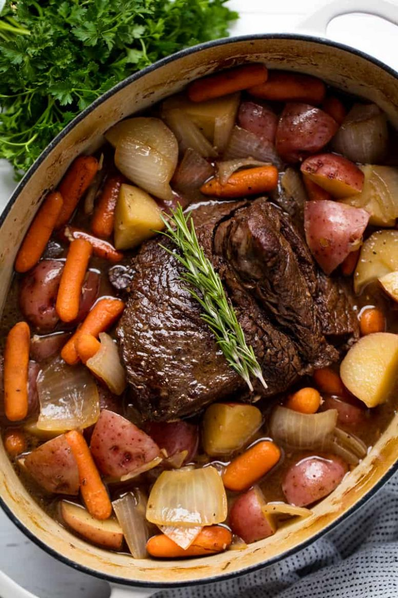 Classic Sunday Pot Roast - Dinner Recipes Roast Beef