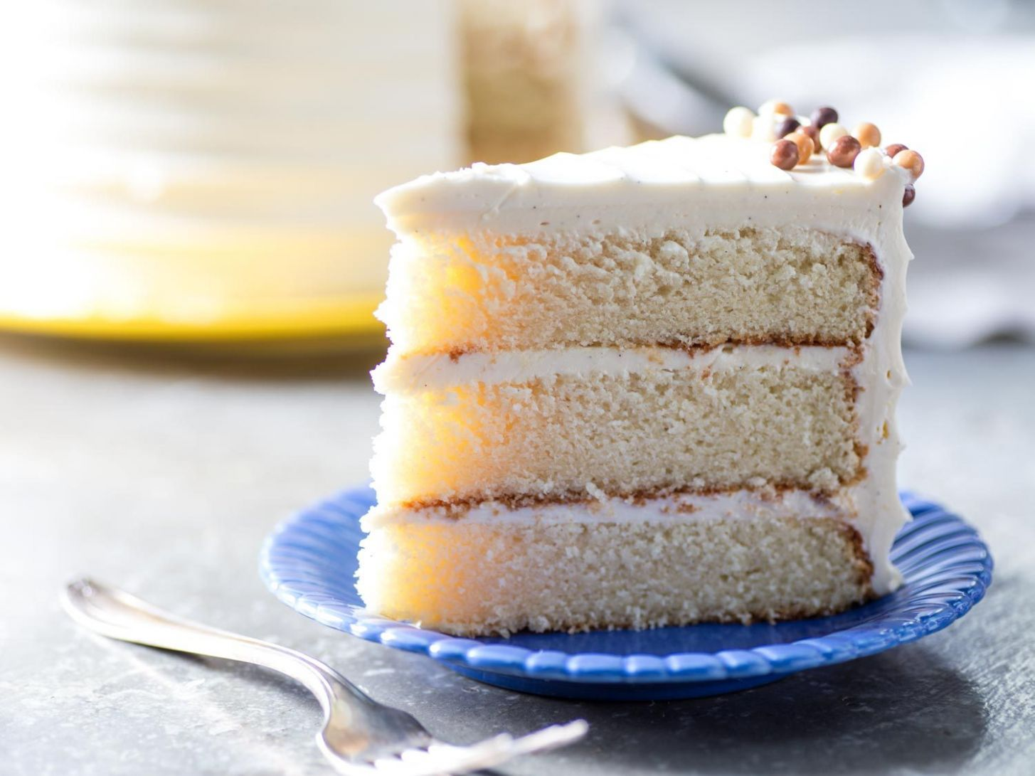 Classic Vanilla Butter Cake Recipe - Recipes Cakes From Scratch