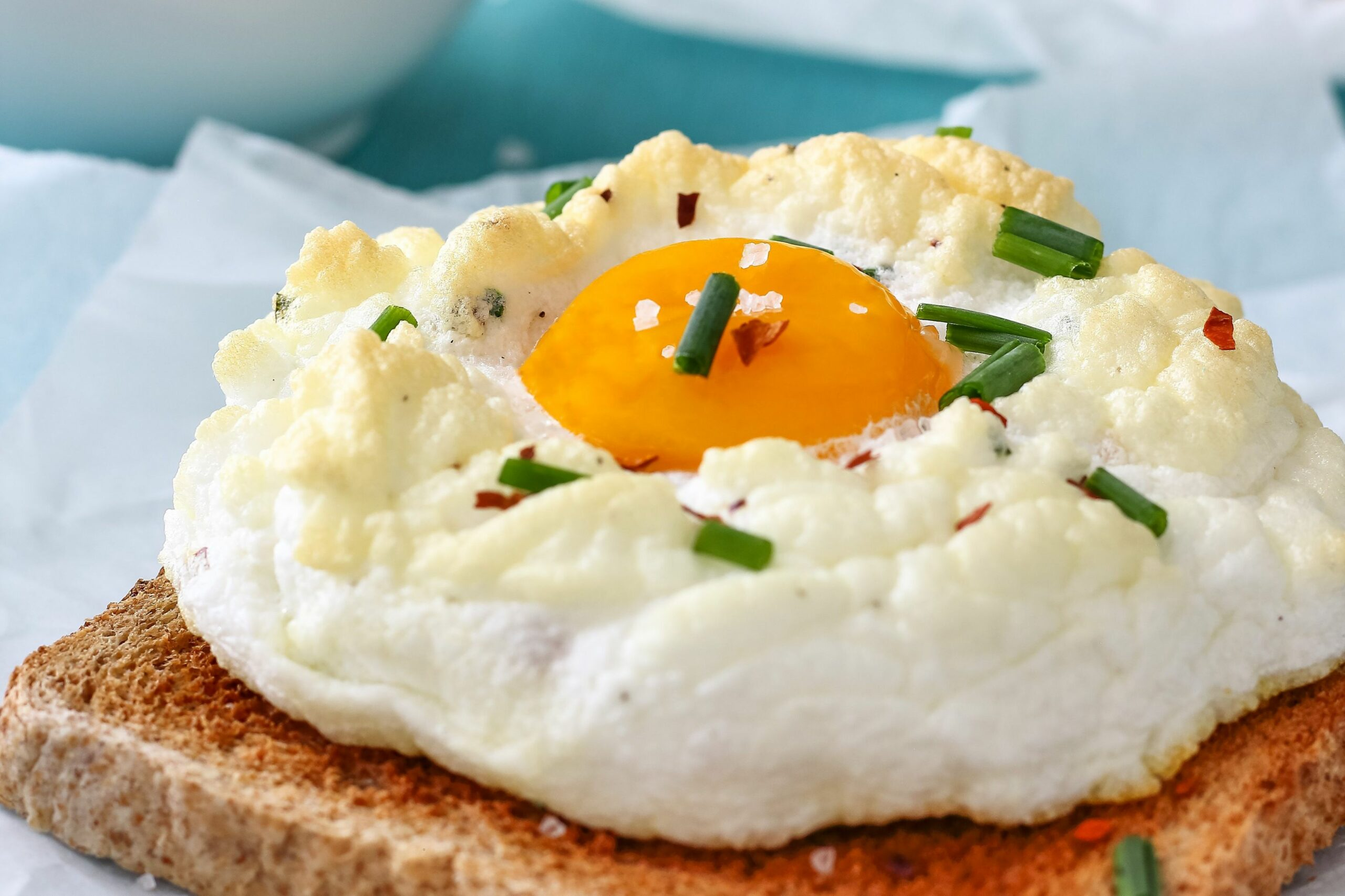 Cloud Eggs - Breakfast Recipes You Could Make With Eggs