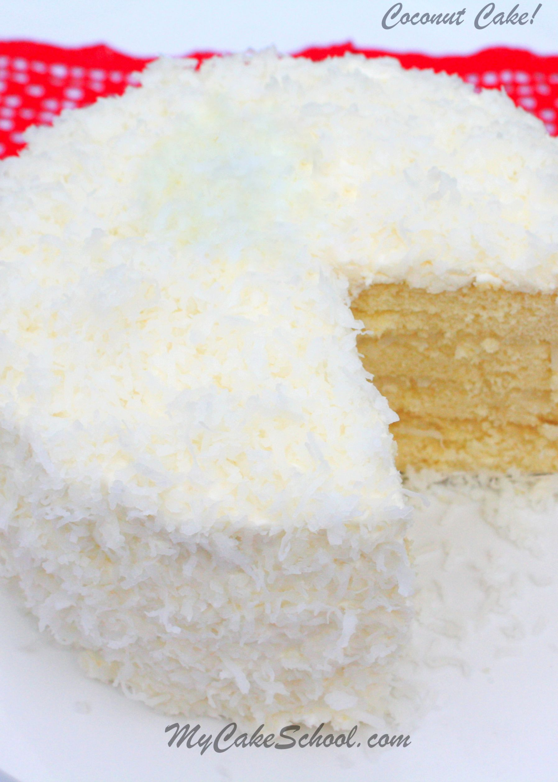 Coconut Cake - Recipes Cakes From Scratch