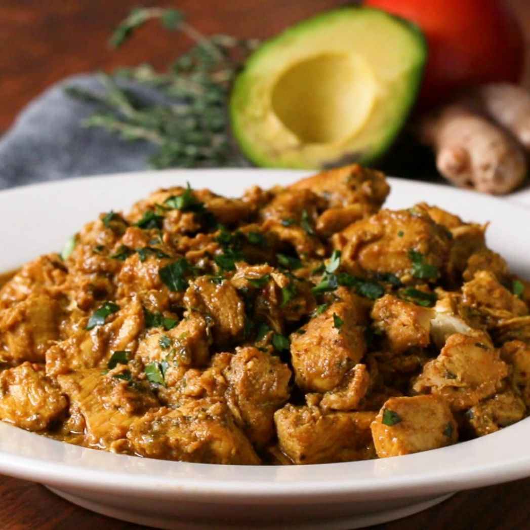 Coconut Chicken Curry Recipe by Tasty - Recipes Chicken Curry