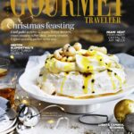 Coconut Pavlova With Passionfruit Jam And Lychees – Dessert Recipes Gourmet Traveller