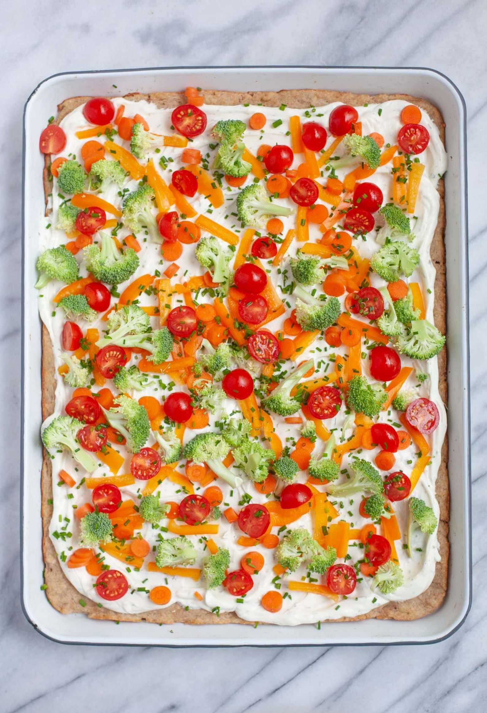 Cold Veggie Pizza Appetizers | Wholefully - Pizza Recipes Appetizers