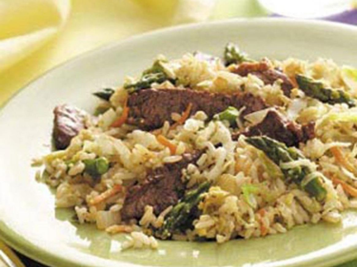 Coleslaw Beef Fried Rice - Recipes Beef Fried Rice