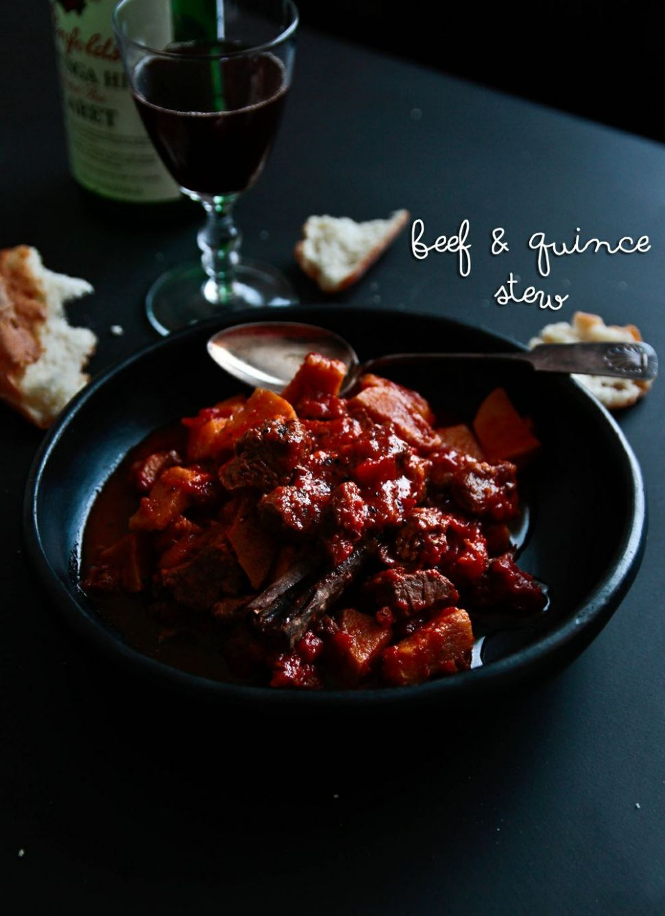 Comforting Beef & Quince Stew - Beef Recipes Nigella