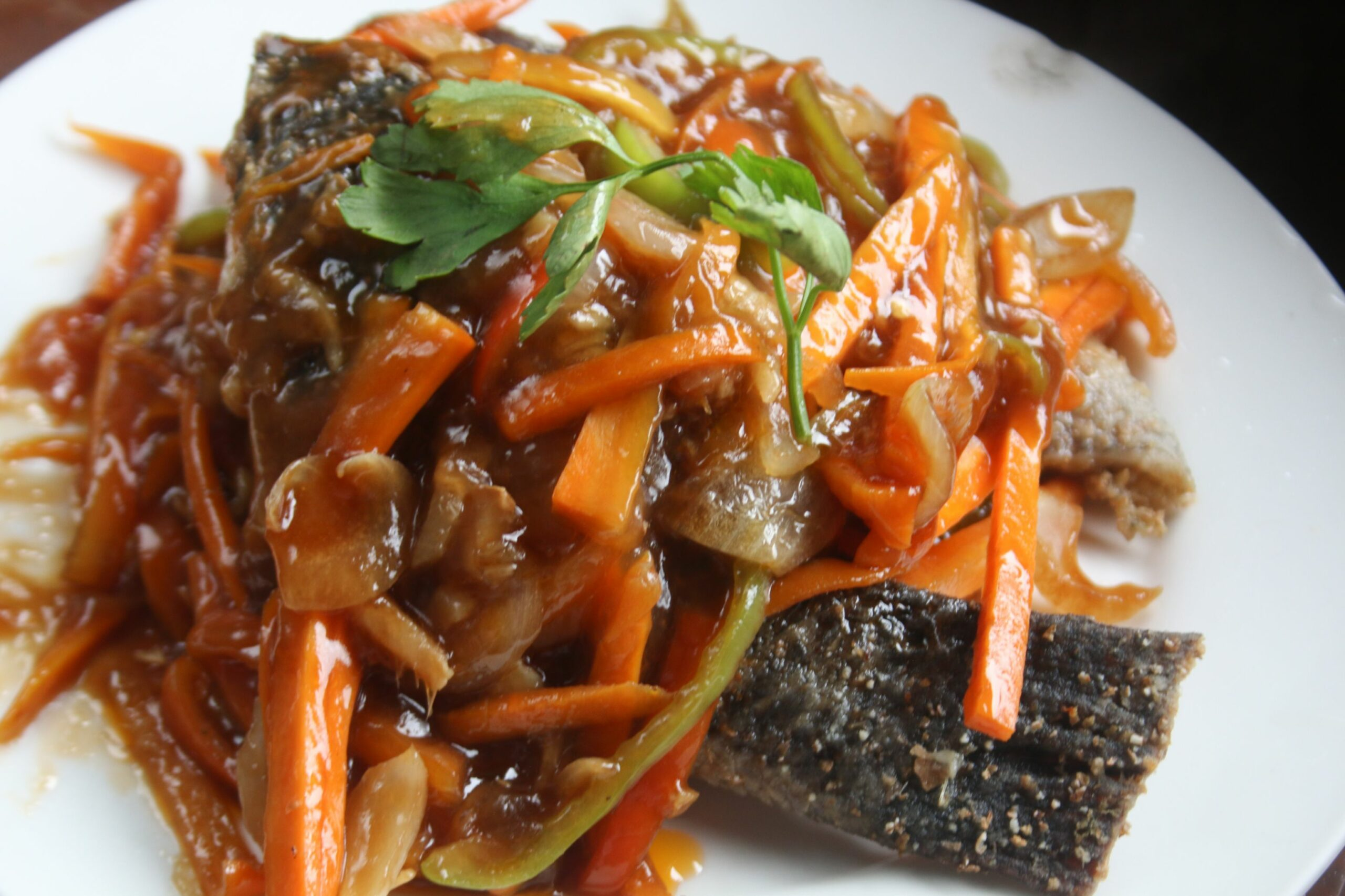 Cook Fish Escabeche - Recipe Fish Escabeche