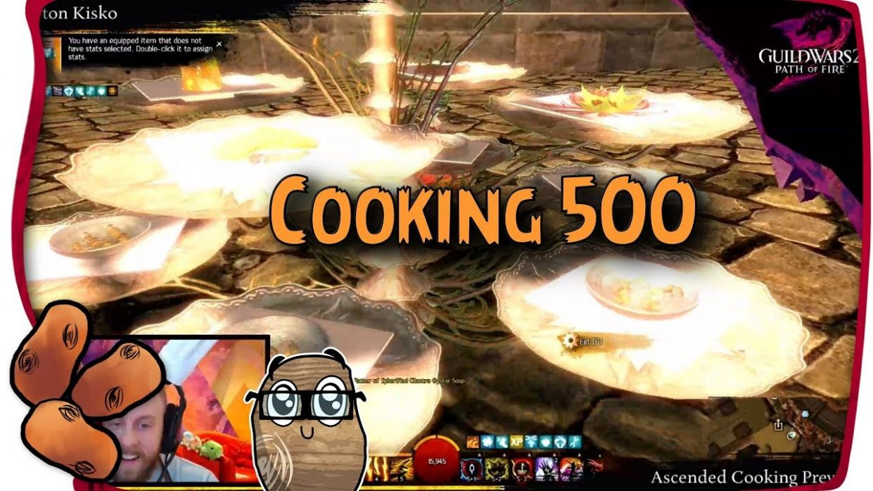 Cooking 10 Details Revealed | Ascended Consumables Arrive - Guild Wars 10 - Food Recipes Gw2