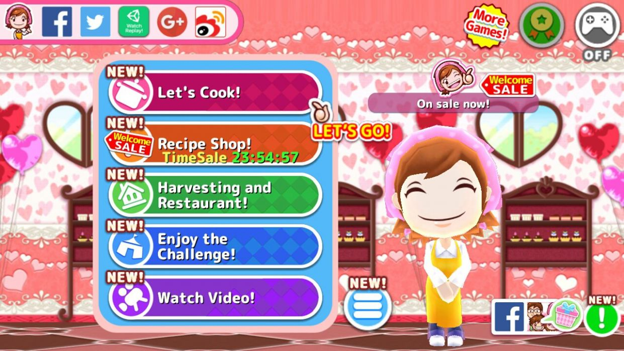 Cooking Mama 11.11