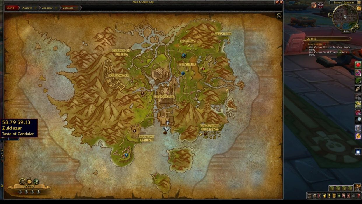 Cooking Trainer Location BfA Horde - Cooking Recipes Horde